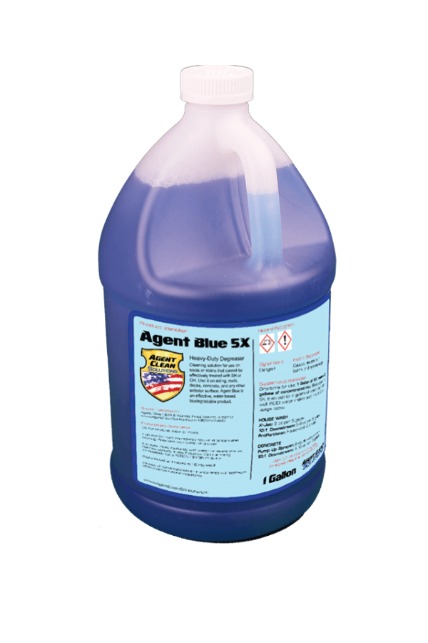 Agent Blue 5x Concentrate - 1 Gallon